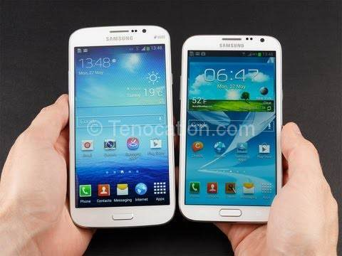 galaxy grand vs samsung galaxy s2