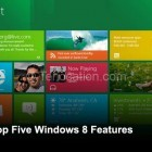 Five Windows 8 Features You May Not Know About