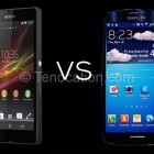 Galaxy S4 vs Xperia Z Comparison
