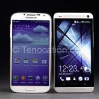 HTC one and galaxy s4