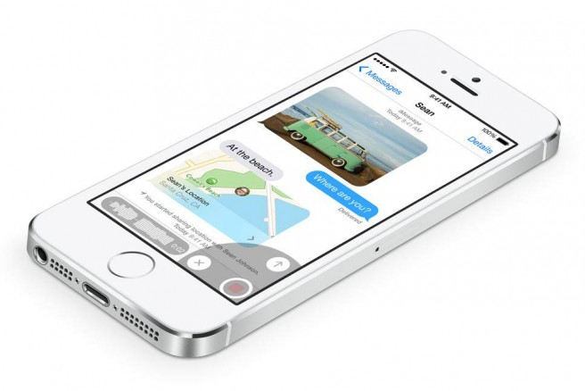 iOS 8 Message App