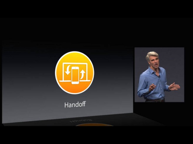 ios 8 handsoff app