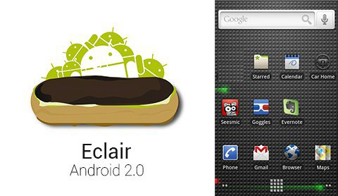 Android eclair Version 2