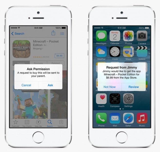iOS 9 New Feature Family Share