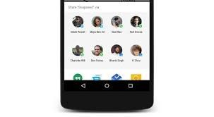 Android 6 Direct Share Feature