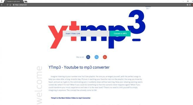 MP3 Converter Youtube
