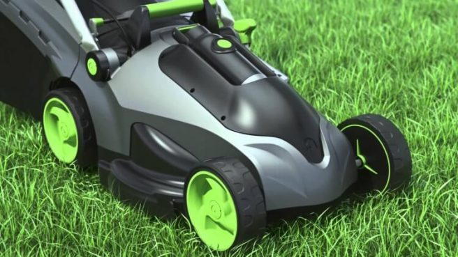 gtech falcon lawnmower